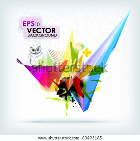 abstract background vector eps