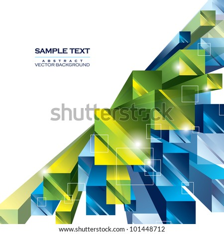 Abstract Background. Vector Illustration. Eps10.