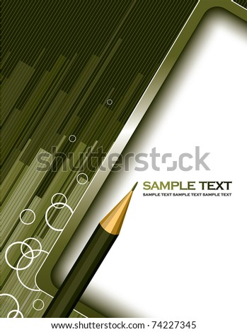 Abstract Background. Vector Illustration in eps10 format.