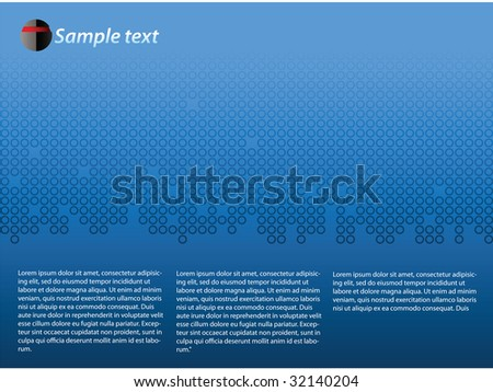 Abstract background vector illustration template