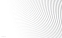 Abstract background, vector template for your ideas, monochromatic lines texture, waved lines texture