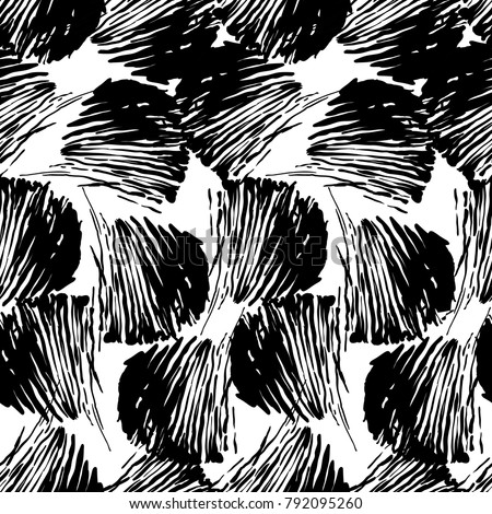 Abstract  background, vector with black and white