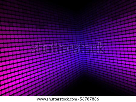 Abstract Background - Violet Equalizer