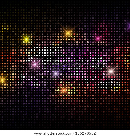 Abstract background with a disco lights design