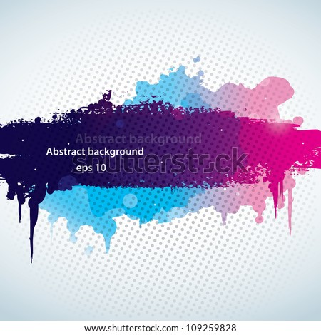stock-vector-abstract-background-with-a-paint-splash