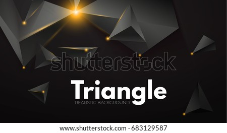 abstract background with black