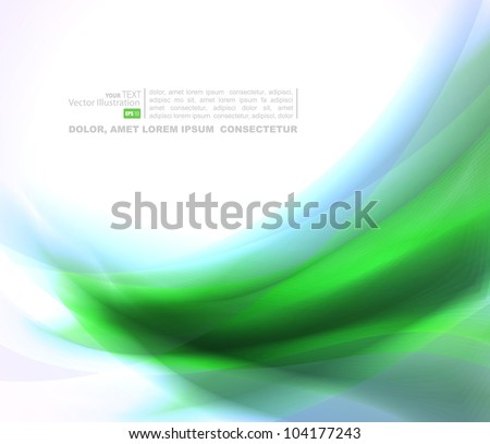 Abstract   background with blue and green blends