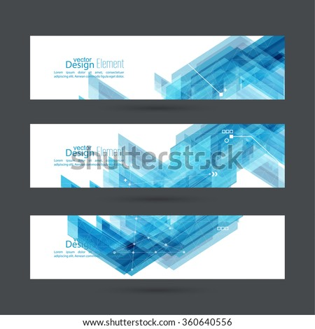 Abstract background with blue stripes corner.  #360640556