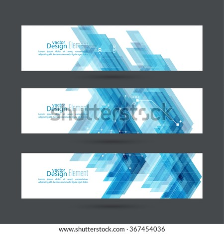 Abstract background with blue stripes corner.  #367454036