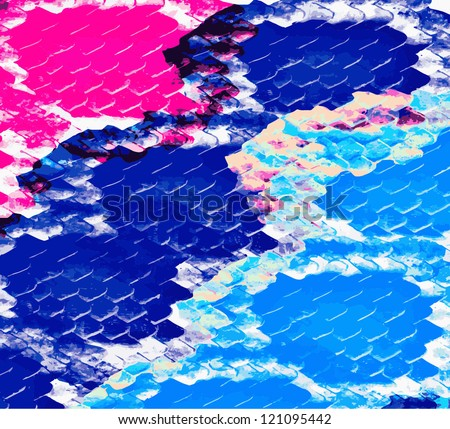 abstract background with boa