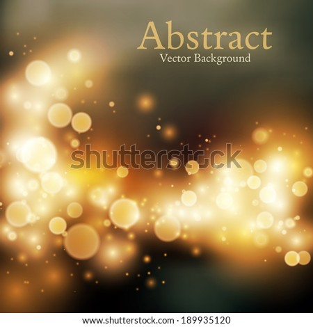 Abstract background with bokeh defocused lights #189935120