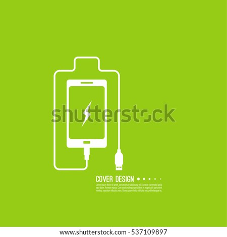 abstract background with charge