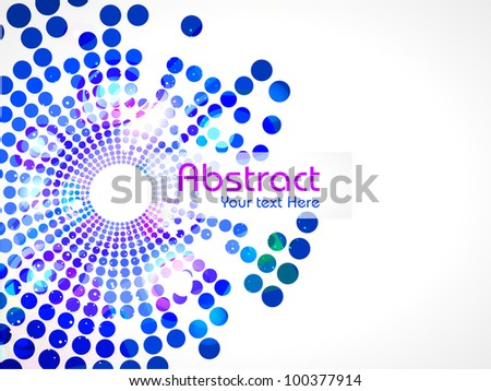 Abstract background with colorful design for text project used and copy space for your text. EPS 10, vector illustration.