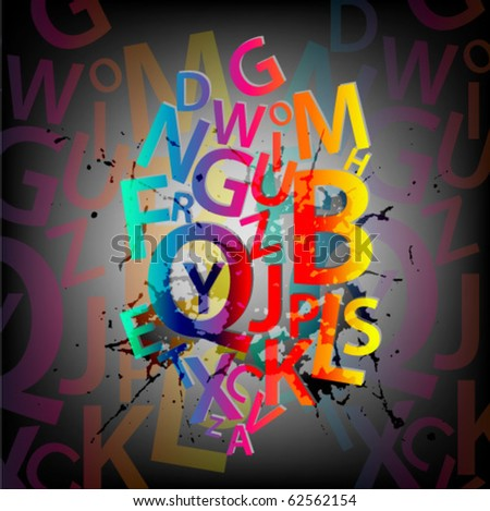 stock-vector-abstract-background-with-colorful-letters