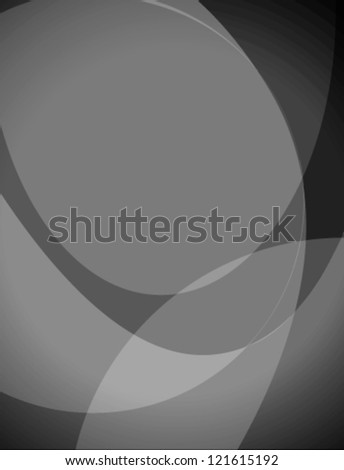 Abstract background with curved waves