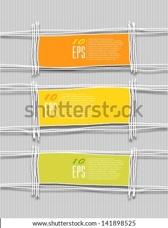 Abstract background with doodle framework. Vector eps10