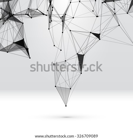 abstract background with dotted