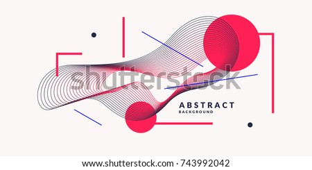 stock-vector-abstract-background-with-dynamic-linear-waves-vector-illustration-in-flat-minimalistic-style