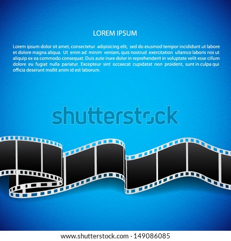 abstract background with film