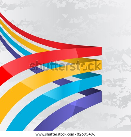abstract background with four