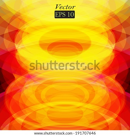 abstract background with frame