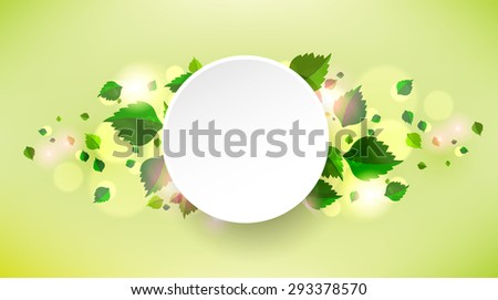 abstract background with fresh
