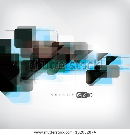 Abstract background with geometric elements