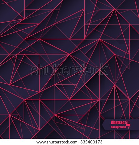 Abstract  background with geometric pattern. Eps 10 Vector illustration.