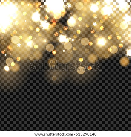 abstract background with gold