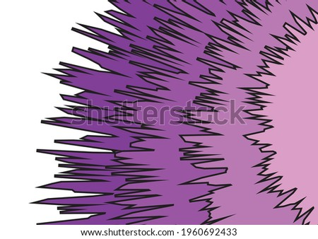 Abstract background with gradient jagged pattern Stock foto ©