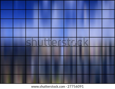 Abstract background with gradient mesh - stock vector