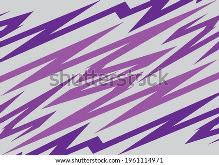 Abstract background with jagged purple zigzag pattern Stock foto ©
