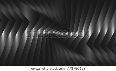 Abstract  background with metal strips.16:9 format. Vector illustration