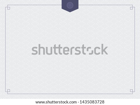 Abstract background with oriental ornaments elements