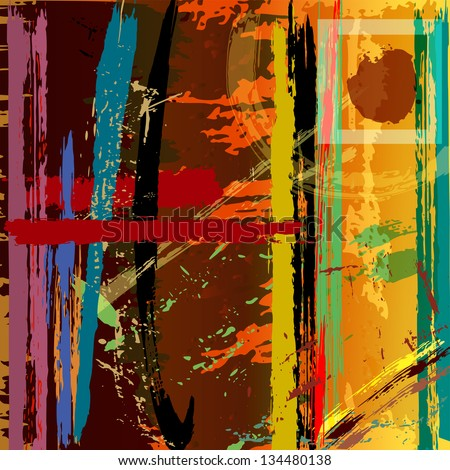 abstract background with paint