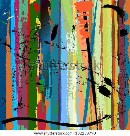stock-vector-abstract-background-with-paint-strokes-splashes-and-stripes