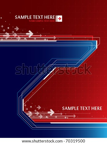 Abstract background with place for text