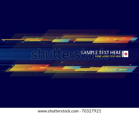 Abstract background with place for your text - Vector