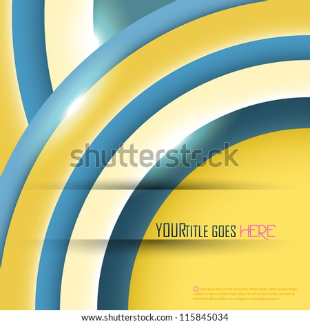 Abstract background with place for your text. Vector illustration.
