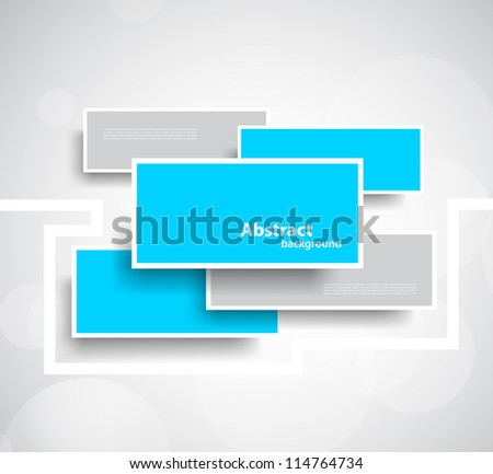 Abstract background with rectangles