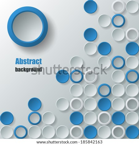 abstract background with small