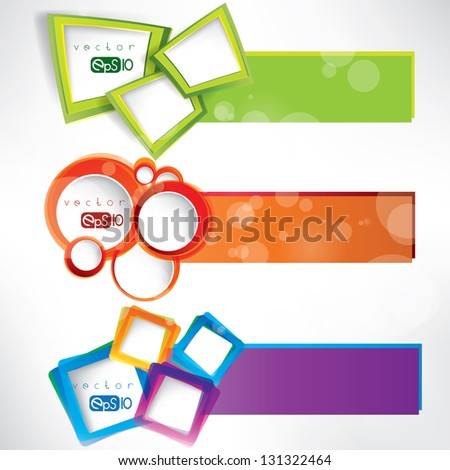 abstract background with speech