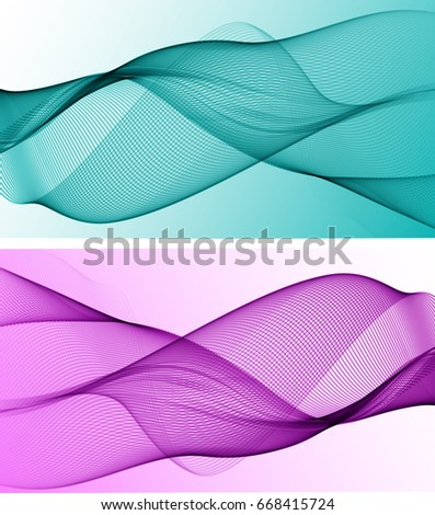 abstract background with two