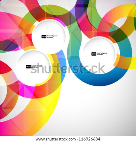 abstract background with vector