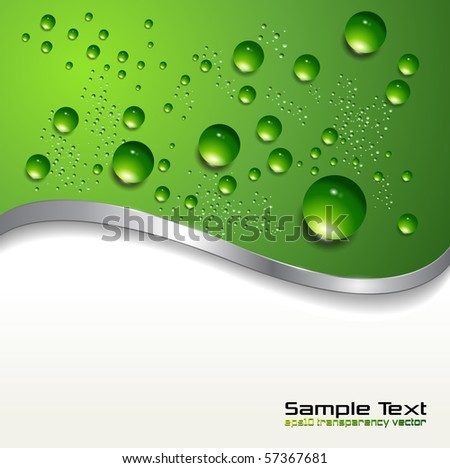 abstract background with water