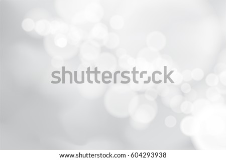 Abstract background with white bokeh effect.Template of blurred defocused lights in spring color for greeting, invitation card, banner and poster to celebrate on holiday season in vector illustration.