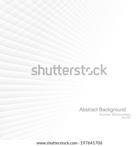 Abstract background with white shapes. Vector illustration - Shutterstock ID 197641706