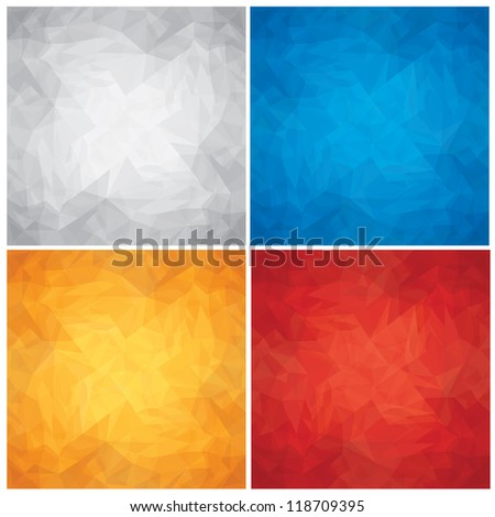 Abstract Backgrounds. Eps10 Vector Set.