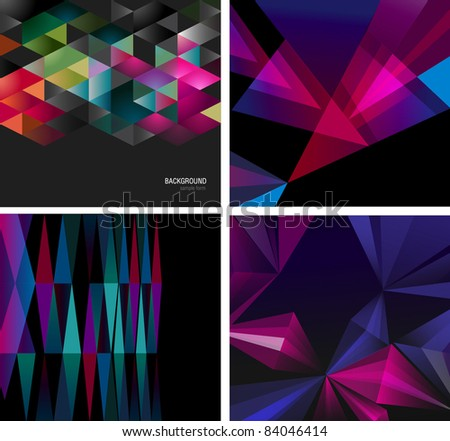 Abstract backgrounds for design