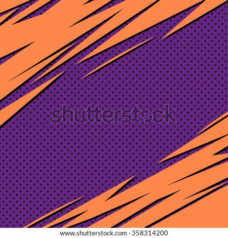 Abstract backgrounds pop art, vector illustration